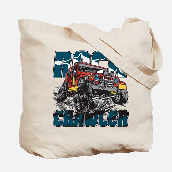 Rock Crawler 4x4 Tote Bag
