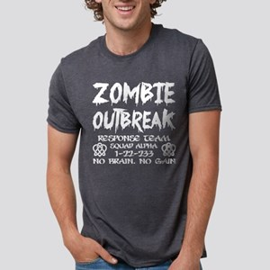 Zombie Outbreak Response Team No Brain No T-Shirt