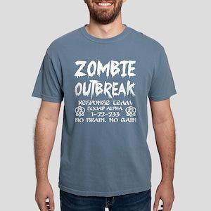 Zombie Outbreak Response Team No Brain No T-Shirt