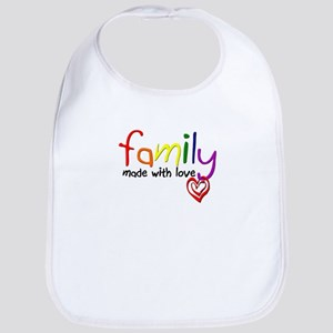 Gay Family Love Bib