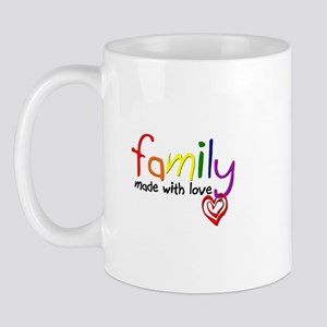 Gay Family Love Mug