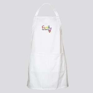 Gay Family Love BBQ Apron