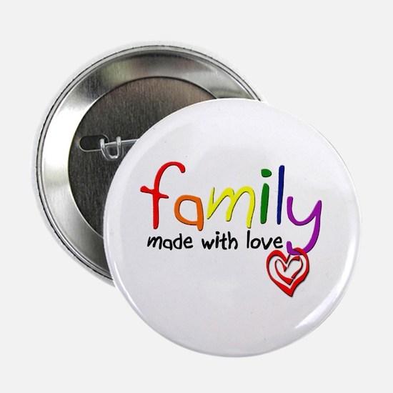 "Gay Family Love 2.25"" Button"