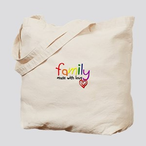 Gay Family Love Tote Bag