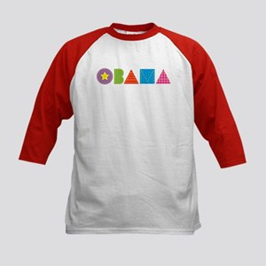 Quilted Obama Kids Baseball Jersey