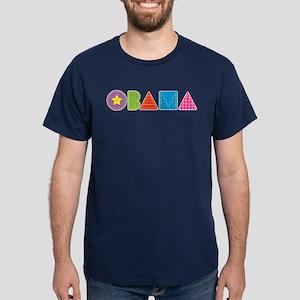 Quilted Obama Dark T-Shirt