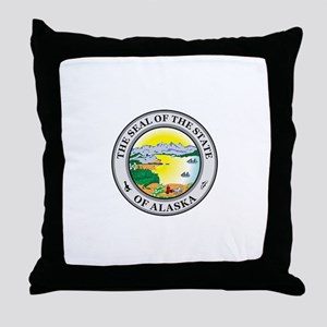 ALASKA-SEAL Throw Pillow