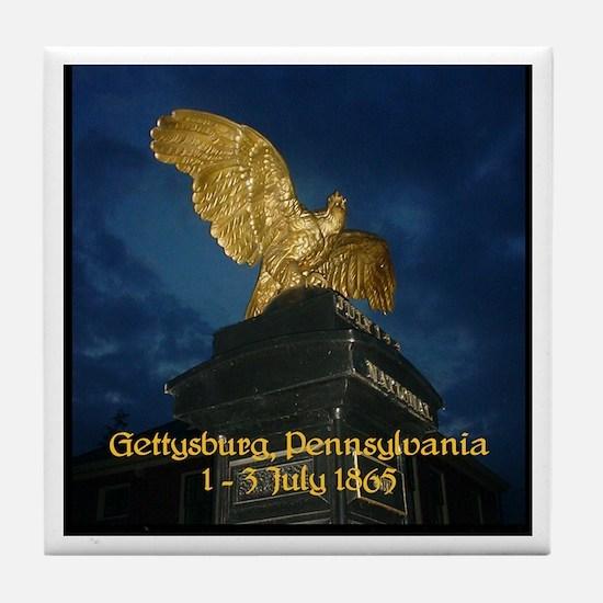 Cute Civil war gettysburg Tile Coaster