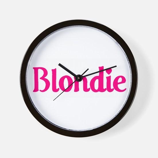 'Blondie' Wall Clock