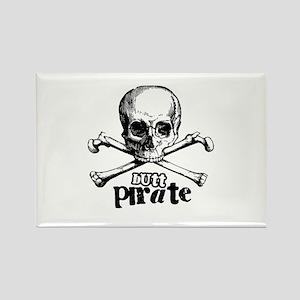 Butt pirate Rectangle Magnet