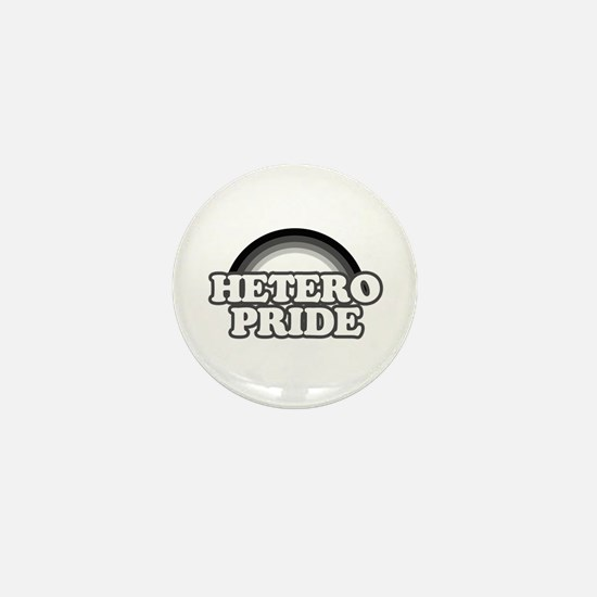 Hetero pride Mini Button
