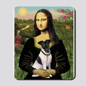 Mona and Fox Terrier Mousepad