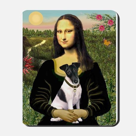 Mona and Fox Terrier Mousepad