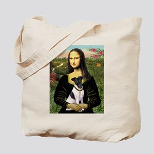 Mona and Fox Terrier Tote Bag