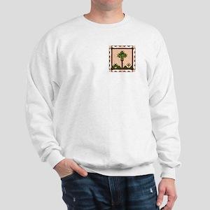 Palm Quilt Sweatshirt