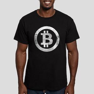 Bitcoin Symbol Vintage T-Shirt