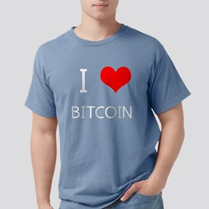I Love Bitcoin - Crypto Currency Traders T-Shirt