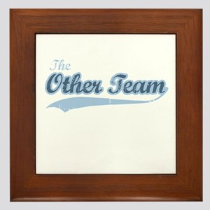 The Other Team Framed Tile