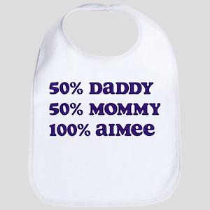 100 Percent Aimee Bib
