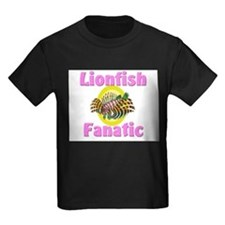 Lionfish Fanatic Kids Dark T-Shirt