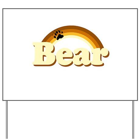 Bear Pride Yard Sign