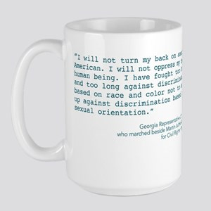 Louis Quote Large Mug