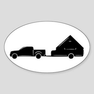 A-Frame + Truck Oval Sticker