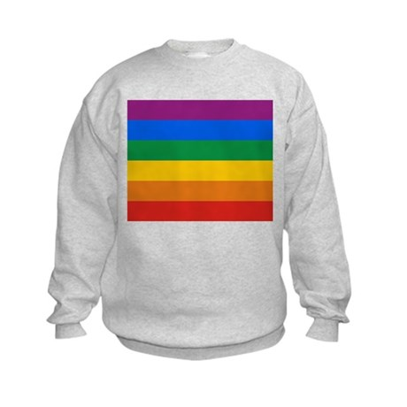 Pride Flag Kids Sweatshirt