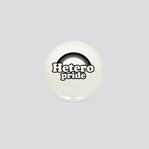Hetero pride Mini Button