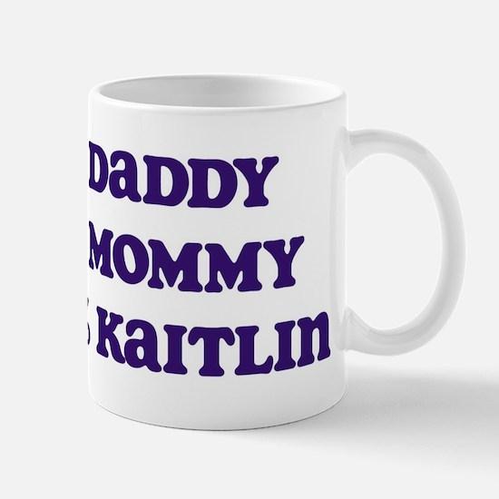 100 Percent Kaitlin Mug