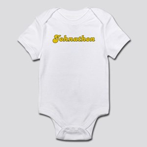 Retro Johnathon (Gold) Infant Bodysuit