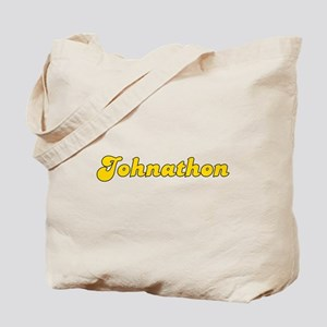 Retro Johnathon (Gold) Tote Bag