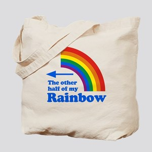 The other half of my rainbow (left) Tote Bag