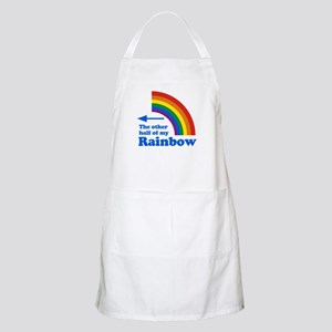 The other half of my rainbow (left) BBQ Apron