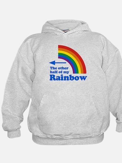 The other half of my rainbow (left) Hoodie