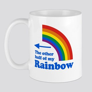 The other half of my rainbow (left) Mug