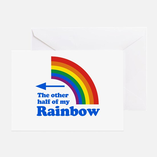 The other half of my rainbow (left) Greeting Card