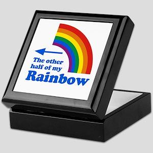The other half of my rainbow (left) Keepsake Box