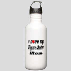 I Love My FIGURE SKATE Stainless Water Bottle 1.0L