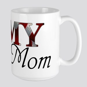 Army Mom (Flag) Large Mug