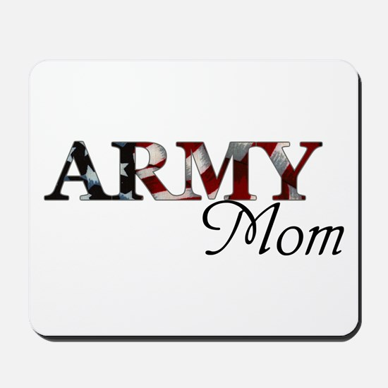 Army Mom (Flag) Mousepad