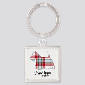 Terrier-MacLeanDuart dress Square Keychain