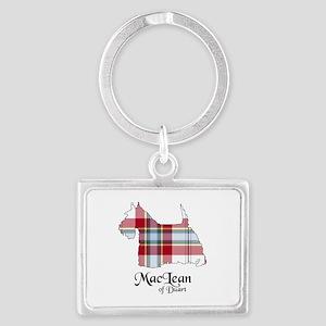 Terrier-MacLeanDuart dress Landscape Keychain