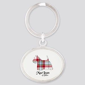 Terrier-MacLeanDuart dress Oval Keychain