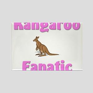 Kangaroo Fanatic Rectangle Magnet