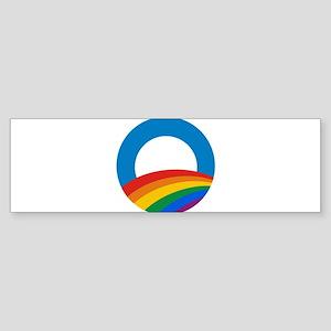 Obama Pride Bumper Sticker