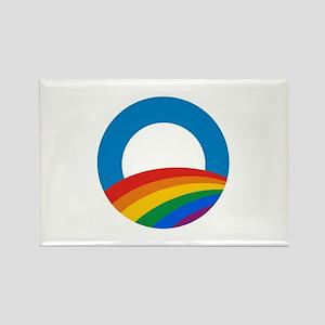 Obama Pride Rectangle Magnet