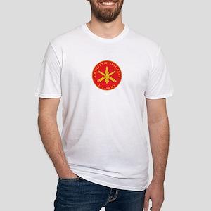 AIR-DEFENSE-ARTILLERY Fitted T-Shirt