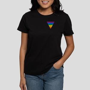 Pride Triangle Women's Dark T-Shirt