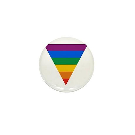 Pride Triangle Mini Button